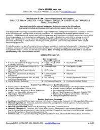 health consultant cover letter