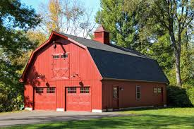 Gambrel Pole Barn by Patriot Gambrel Style 1 Story Garage The Barn Yard U0026 Great