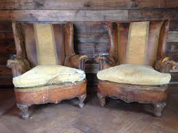 Kissing Chairs Antiques Vintage Wingback Chairs Are We Home Yet Pinterest Wingback