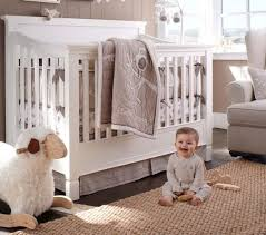 Boy Owl Crib Bedding Sets Hadley Baby Bedding Pottery Barn