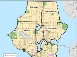 seattle map by district school attendance area boundary maps released my ballard