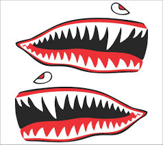Classic Ford Truck Decals - shark teeth decal ebay