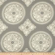 home decor weight fabric screen printed on cotton sateen this medium weight fabric designed