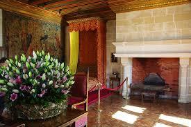 chambre fleurie une chambre fleurie photo de château de chenonceau chenonceaux