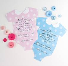 personalised baby shower invitation by cherub design