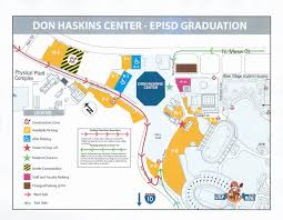 El Paso Texas Map Don Haskins Location Maps For Graduation Chapin High