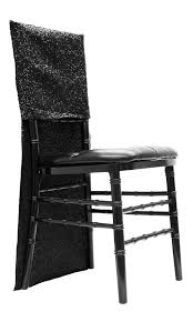 chair back cover glitz sequin chair back cover black cv linens