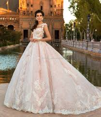 wedding dresses gowns pink lace princess gown wedding dresses 2017 design