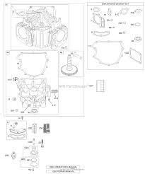 briggs and stratton 406577 0191 e1 parts diagram for crankcase