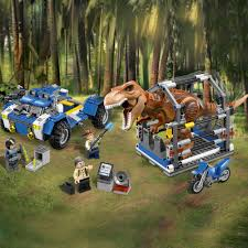 lego jurassic world jeep lego jurassic world t rex tracker 75918 70 00 hamleys for