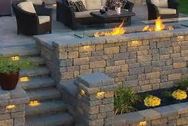 backyard fire glass landscaping rocks nativefoodways