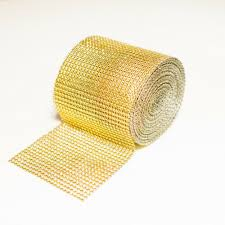 bling ribbon bling wrap rhinestone mesh ribbon trim 901 g