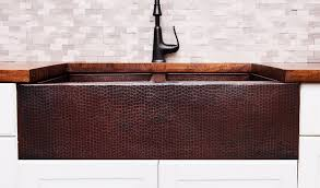 Cheap Copper Kitchen Sinks by Copper Farmhouse Sink Buyers Guide Coppersmith