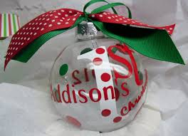 etsy item spotlight personalized baby s ornament