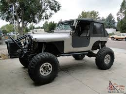 jeep rock crawler flex cj rock crawler