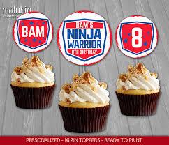 custom cupcake toppers american warrior cupcake toppers warrior 16