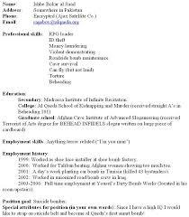 Resume To Fill Up Fill Up Blank Resume Eliolera Com