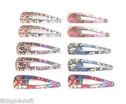 hair slides hair hair snaps flower design 5 10 or 20