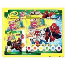 crayola spiderman color gift walmart
