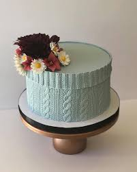 simply edible the most detailed edible cable knit cake i seen simply