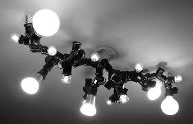Chandelier Light Bulbs A Bright Idea Try This Diy Light Bulb Chandelier Diy Interiors