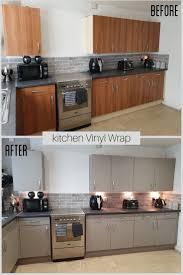 best paint for vinyl kitchen cabinets uk before after kitchen vinyl wrap kitchen vinyl custom