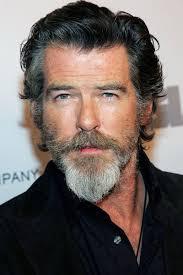 how to achieve salt pepper hair pierce brosnan s salt and pepper beard helps him blend into the