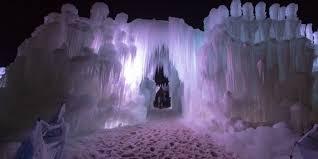 video watch utah u0027s amazing ice castles take shape in this
