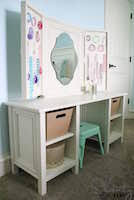 child vanity woodworking plans and information at woodworkersworkshop