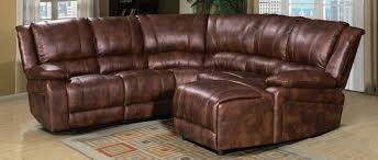 Leather Recliner Corner Sofa Buy Annaghmore Hampden Tan Bubble Leather Air Fabric Recliner
