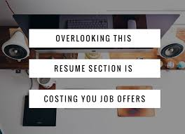 Resume Skill Section Here U0027s Why Your Resume Skills Section Is Critical To Getting Hired
