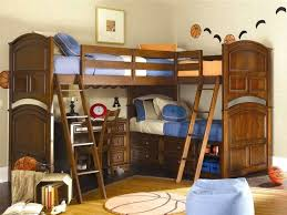 Bunk Bed With Stairs And Desk Beds Built In Bunk Beds Corner With Stairs And Desk Modern Unit