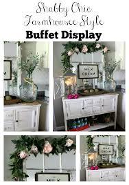 late spring buffet decor the glam farmhouse