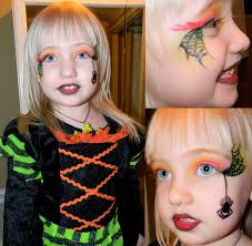 Girls Halloween Makeup Cute And Scary Witch Makeup Ideas For Halloween Entertainmentmesh