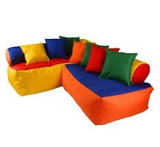 corner couch set bean bag sofa kids childrens nursery play cushion