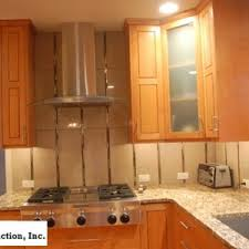 Recessed Lighting For Kitchen by Home Design Contemporary Kitchen Design With Beautiful Backsplash