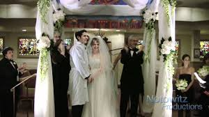 Videographer Los Angeles Jewish Wedding Ceremony At Temple Beth Am In Los Angeles
