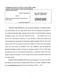 notice of motion to dismiss appeal hernandez privacy new
