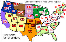 u s indian tribes federally non recognized index by state