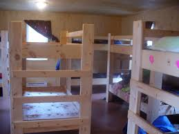 Free Instructions For Bunk Beds by Bunk Bed Building At Bayside Camp Ravenview