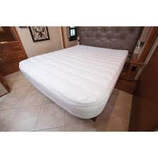 home design classic mattress pad short queen home comfort mattress pad carpenter 31374554233