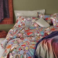 Missoni Duvet Cover Pillow Pile Up Weekly Modern Vintage Mix