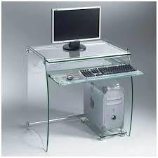 bureaux pour ordinateur bureau ordinateur en verre bureau pour ordinateur en verre clair