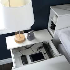 ikea charging station bedside table with charging station phenomenal side ikea home