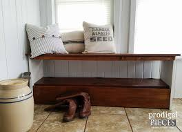 bookcase bench repurposed bookcase headboard bench prodigal pieces