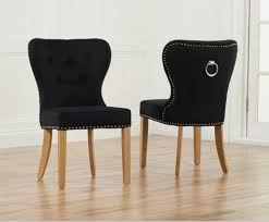 Navy Upholstered Dining Chair Dining Chairs Amusing Black Velvet Dining Chairs Navy Velvet