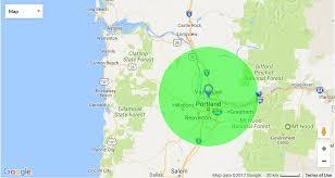 Google Maps Radius Location Danshap Landscaping