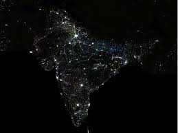 pictures of night lights in first satellite images of night lights show economic inequality