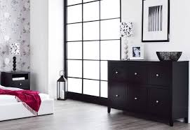 statement furniture brooklyn bedroom range black painted matt