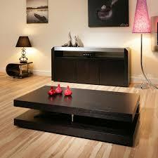 black modern coffee table furniture elegant black modern coffee